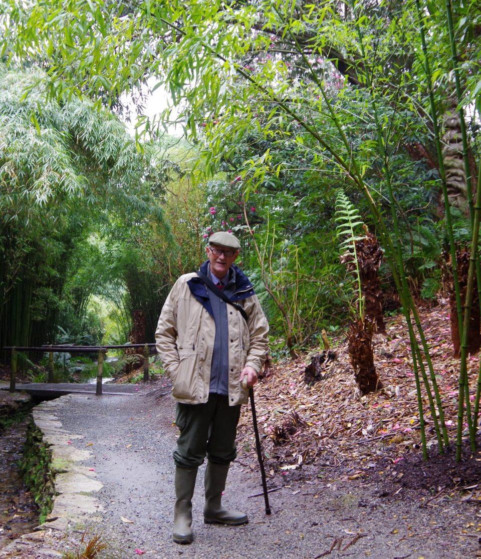 Paul at Trebah