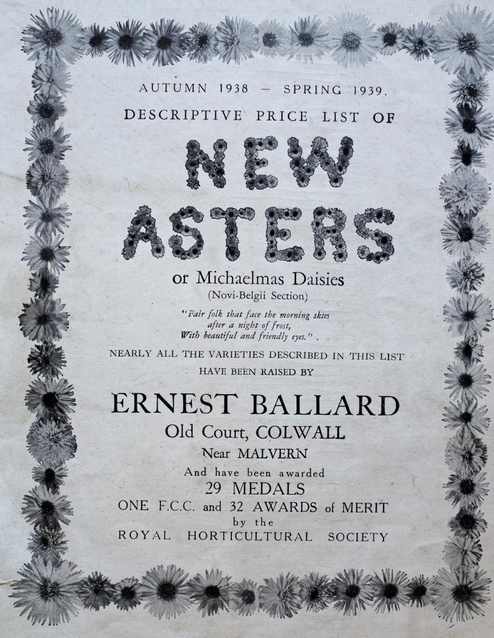 catalogue 1938