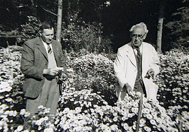 Percy Picton and Ernest Ballard 1950