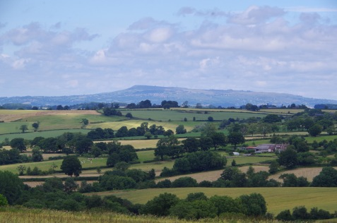 towards Clee Hill
